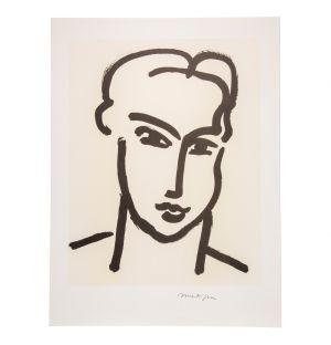 Affiche «Grande Tête De Katia» Henri Matisse