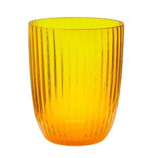 Verre Idra Rigadin - jaune
