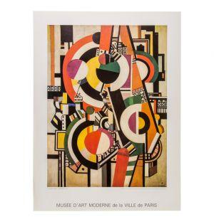 Affiche «Les disques» de Fernand Léger