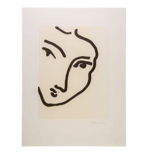 Poster Henri Matisse «Nadia Au Menton Pointu»