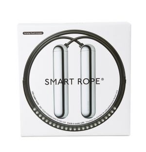 Corde à sauter noire Smart Rope - Medium