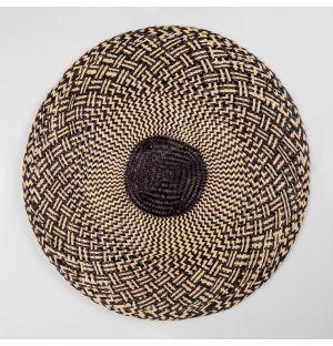 Set de table Africa noir & blanc - diam 30 cm