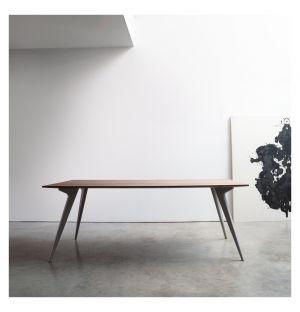 Table Waldron noyer