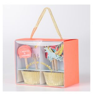 Kit à cupcakes Licorne