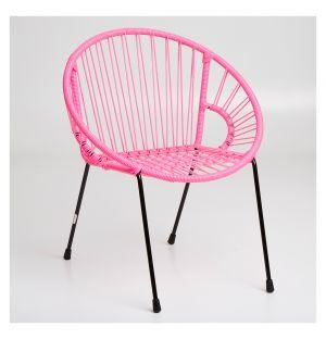 Chaise pour enfant  Tica rose