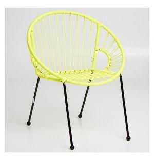 Chaise pour enfant Tica jaune