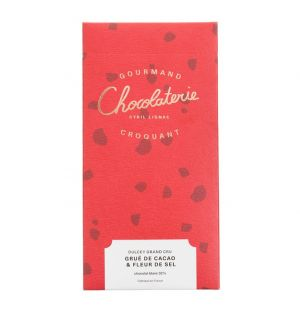 Tablette Dulcey Grand Cru grué de cacao & fleur de sel