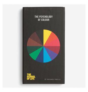 Crayons de couleur The Psychology of Colour