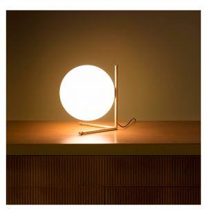 Lampe de table IC T2 laiton brossé