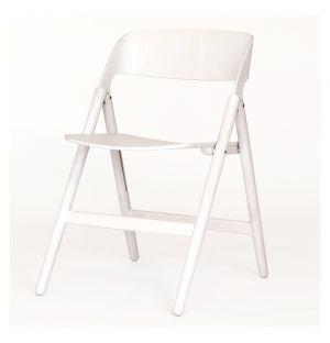 Chaise pliante Narin blanche