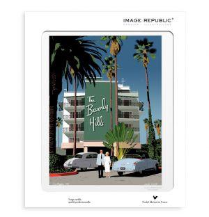 Affiche Beverly Hills - Paulo Mariotti - 40 x 50 cm