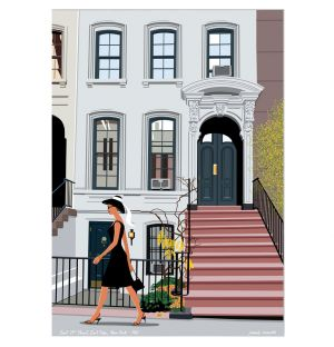 Affiche New York - Paulo Mariotti - 40 x 50 cm