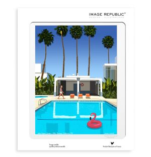 Affiche Palm Springs - Paulo Mariotti - 40 x 50 cm
