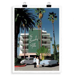 Affiche Beverly Hills - Paulo Mariotti - 56 x 76 cm