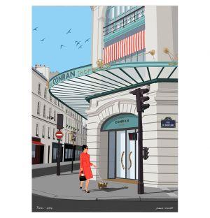 Affiche Paris Babylone The Conran Shop - Paulo Mariotti - 40 x 50 cm