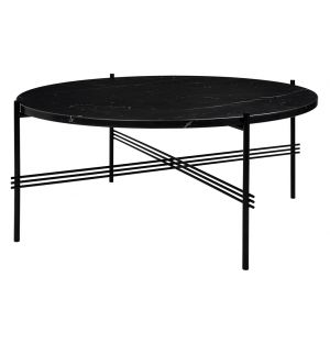 Table basse en marbre Nero Marquina The Standard - 105 cm