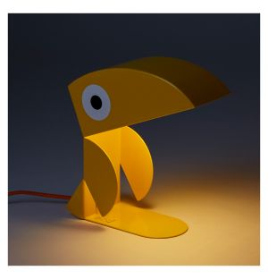 Lampe Toucan jaune