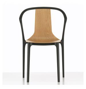 Chaise Belleville coque en bois - Vitra