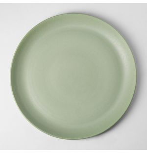 Assiette plate Ombra Foglia 29cm Vert