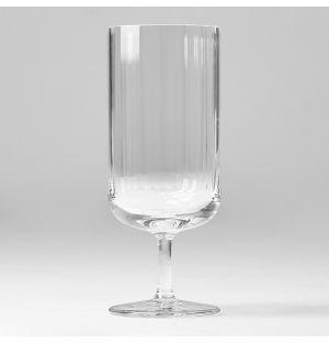 Verre à eau Fluted en cristal