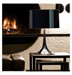 Lampe de table Spun T1 noire - Flos