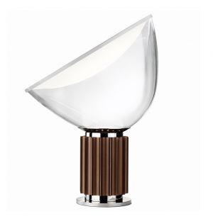 Lampe de table Taccia LED small bronze - Flos