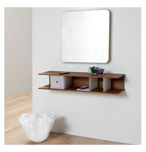 Miroir Silhuet AK 6 chêne - H 60 cm