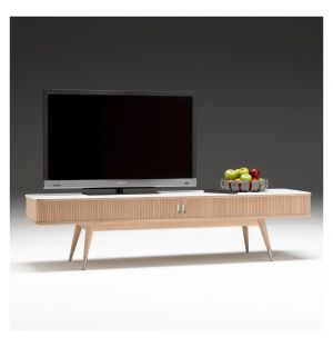Meuble TV AK 2720 Corian & chêne