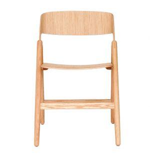 Chaise pliante Narin chêne