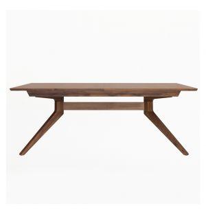 Table extensible en noyer Cross