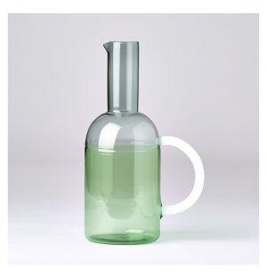 Pichet Tequila Sunrise blanc, gris et vert