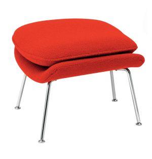 Ottoman avec coussin pour Womb Chair tissu Cato - Knoll