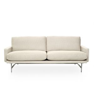 LISSONI SOFA 2 SEAT STAINLESS STEEL FRAME CAT 1 SPEC