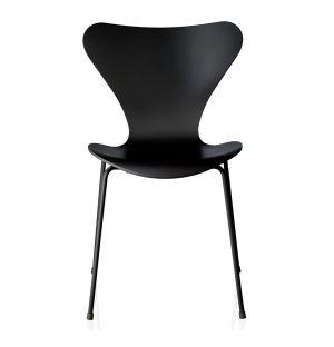 Chaise Série 7 - modèle 3107 - frêne noir - Fritz Hansen