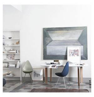 Table Analog blanc & chêne