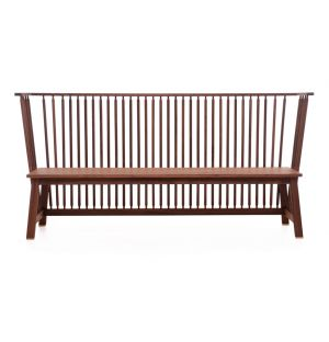 Banc Low Settle noyer - De La Espada