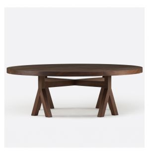 Commune Coffee Table Black Walnut