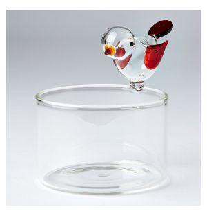 Récipient en verre Bird