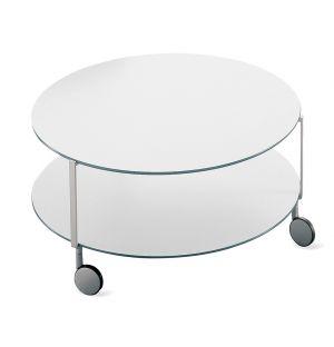 Table basse Girò blanche 75 cm - Zanotta