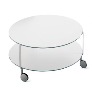 Table basse Girò blanche 110 cm - Zanotta