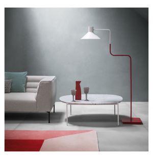 Table basse Niobe marbre blanc 110 cm - Zanotta