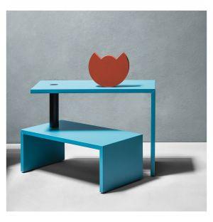 Table basse Basello bleu vert foncé