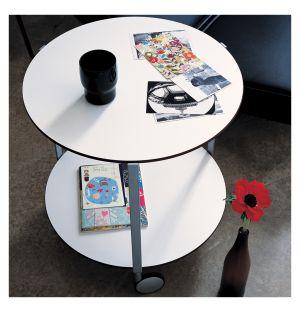 Table d'appoint Girò blanche 50 cm - Zanotta