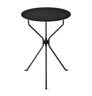 Table d'appoint pliante Cumano noire - Zanotta