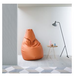 Pouf Sacco tissu VIP coloris au choix - Large