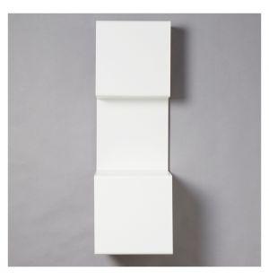 Étagère murale blanche Showcase #3