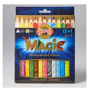 Crayons  de couleur magiques