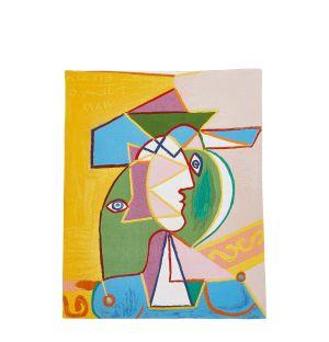 Tapisserie Picasso - Femme Au Chapeau