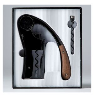 Tire-bouchon Oeno Motion Black & Wood