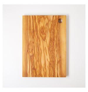 Planche à découper en bois d'olivier – 35 x 25 cm